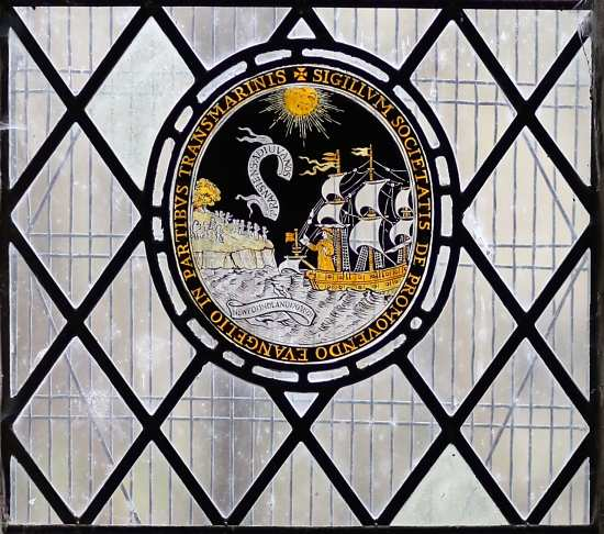 The SPG George Keith Memorial Window