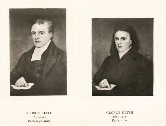 George Keith 1638-1716