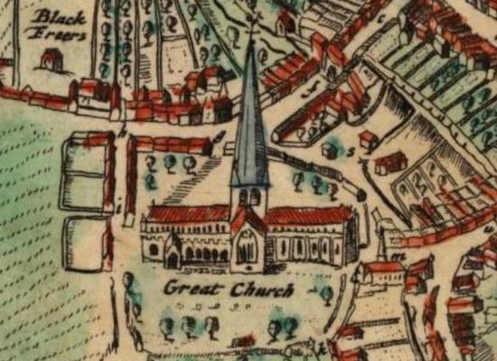 Great Church Aberdeen 1661