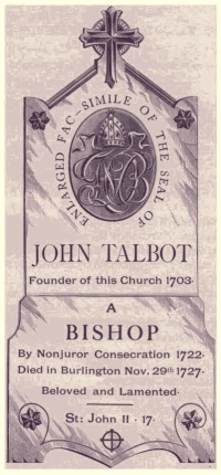 The seal of Bishop John Talbot
