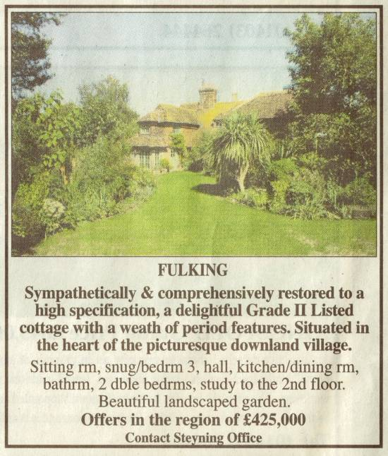 2 Septima Cottages, The Street, Fulking