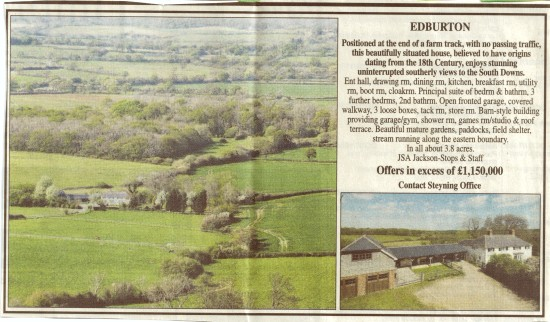 Truleigh Cottage, Edburton