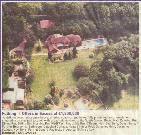 Badgerwood House, Clappers Lane, Fulking