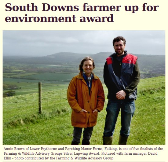 Annie Brown David Ellin Perching Paythorne Fulking farm