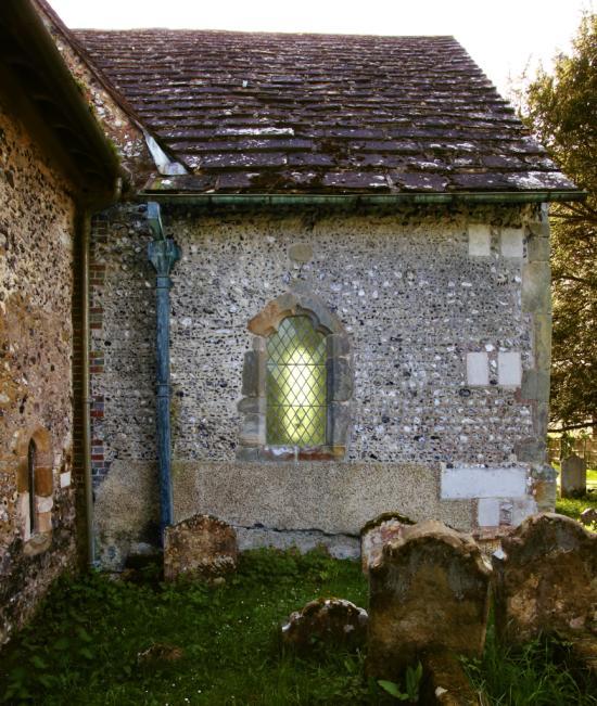 St. Katherine's Chapel Edburton from East