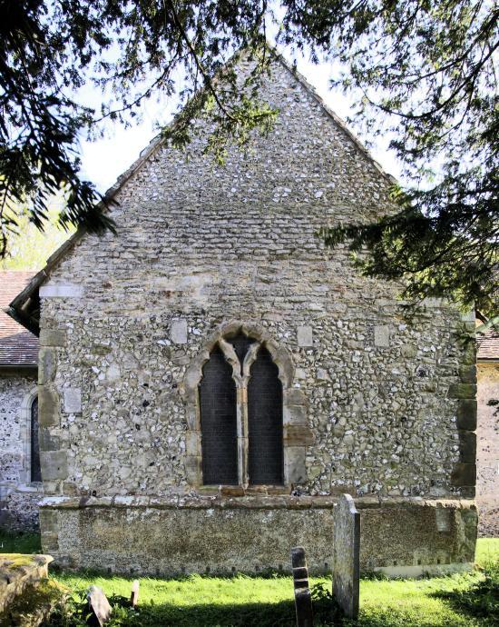 St. Katherine's Chapel Edburton from North