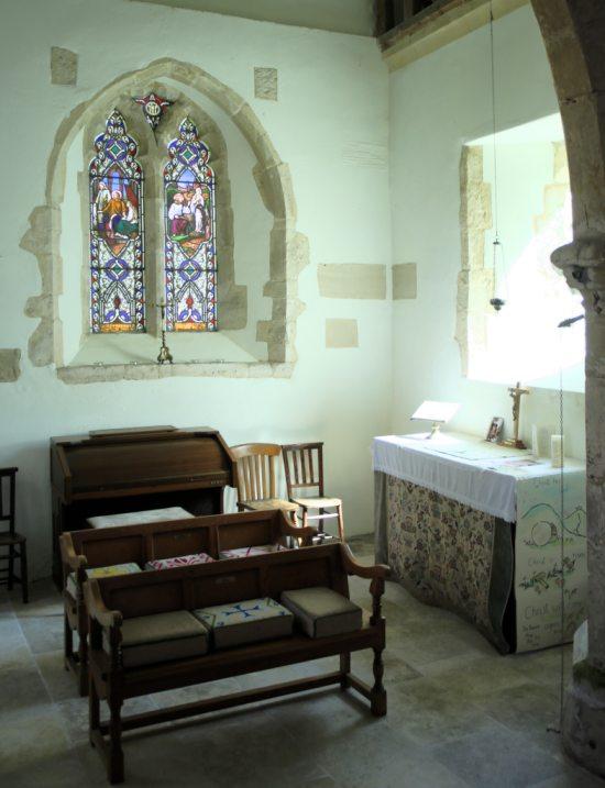 St. Katherine's Chapel Edburton interior