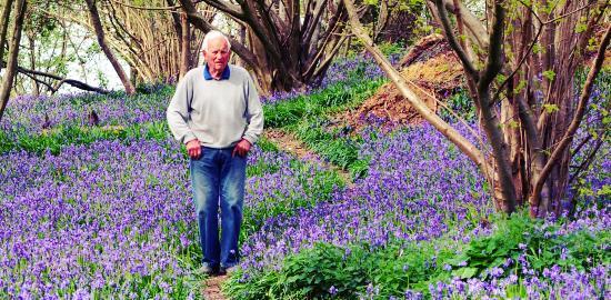 Bob Rowland at Furzefield