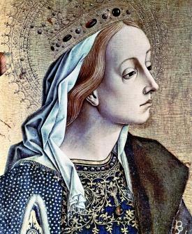 Carlo Crivelli's portrait of St. Katherine