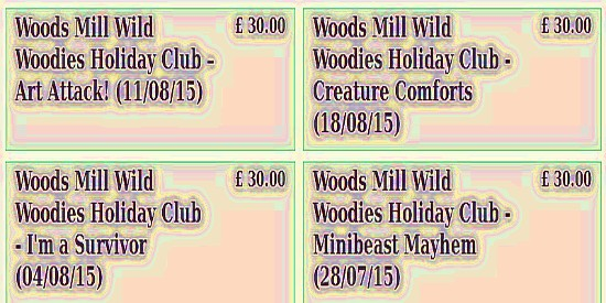 Woods Mill  events for children