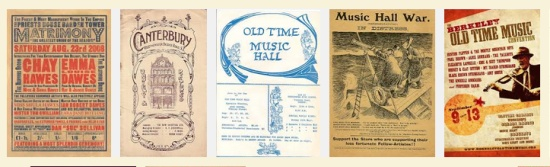Music Hall posters