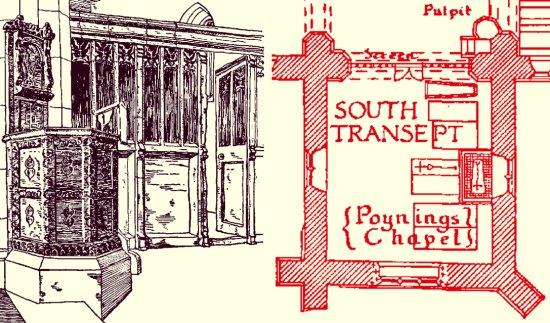 Holy Trinity Poynings Church South Transept