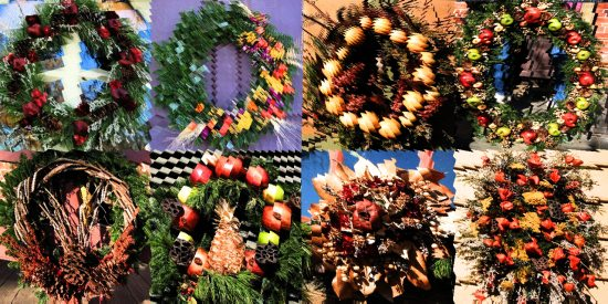Christmas Wreaths National Trust 2015