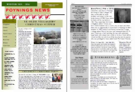 Poynings News Winter