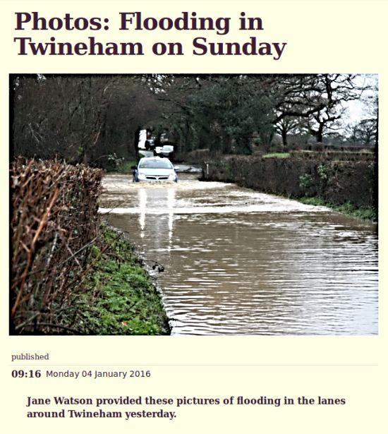 Twineham floods Jane Watson WSCT
