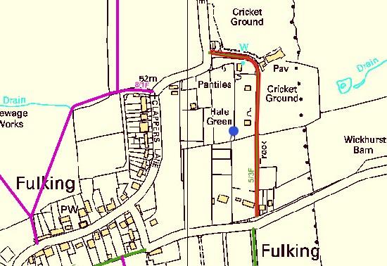Bridleway 5/3F closure