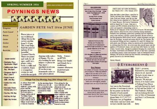 Poynings News Spring 2016