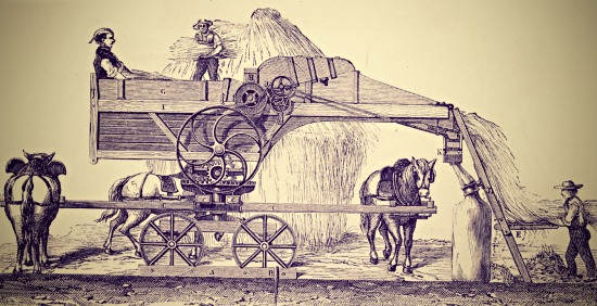 Threshing machine C19