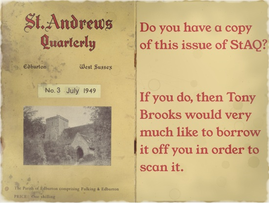 St. Andrews Quarterly No. 3 (July 1949)