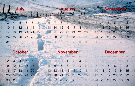 Fulking Calendar Project