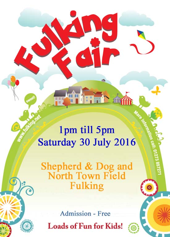 Fulking Fair 2013 Poster