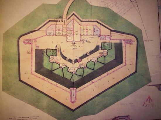 Plan of Shoreham Fort