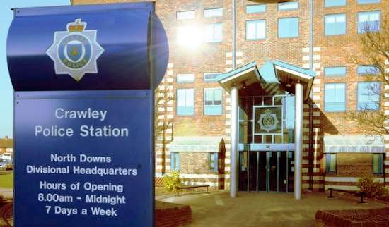 Crawley Police Station