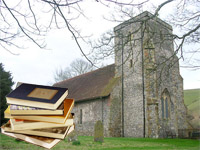 Image of St Andrews with books