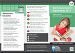 Starting school brochure icon