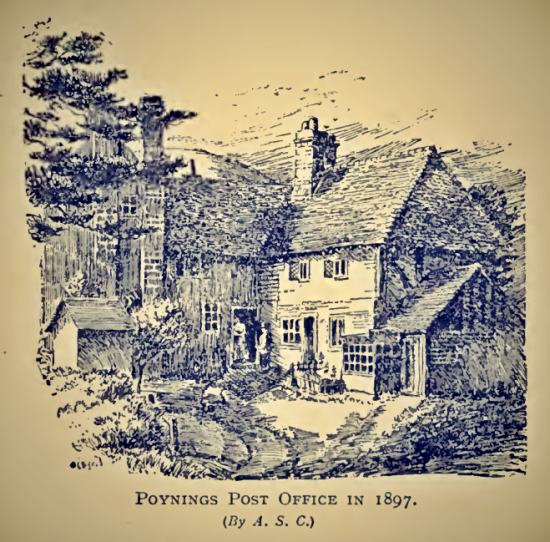 The Poynings Post Office in 1897