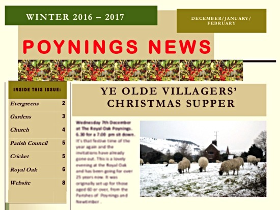 Poynings News Winter 2016-2017