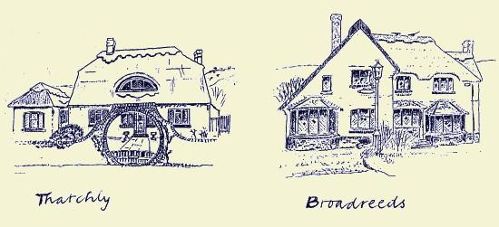 Thatchly & Broadreeds, Fulking, 1987, Stuart Milner