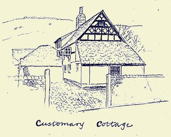 Customary Cottage, Fulking, 1987, Stuart Milner