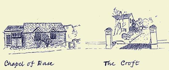Chapel of Ease and The Croft, Fulking, 1987, Stuart Milner