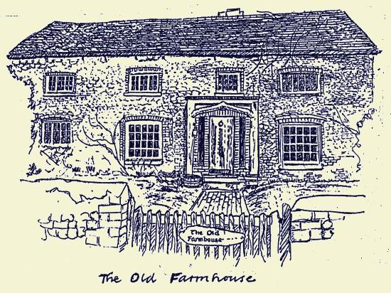 The Old Farmhouse, Fulking, 1987, Stuart Milner