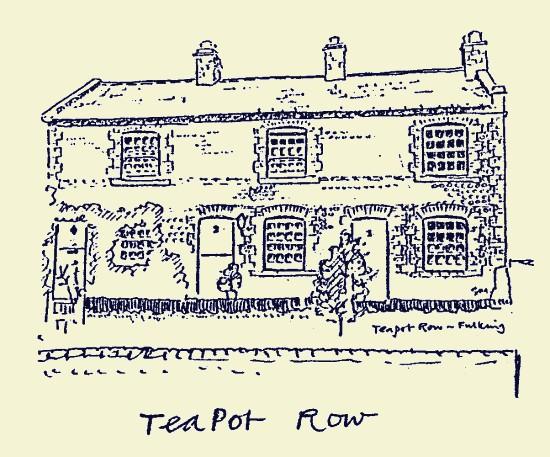 Teapot Row, Fulking, 1987, Stuart Milner