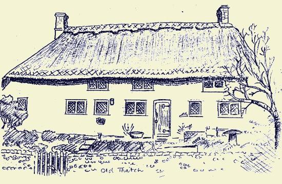 Old Thatch, Fulking, 1987, Stuart Milner