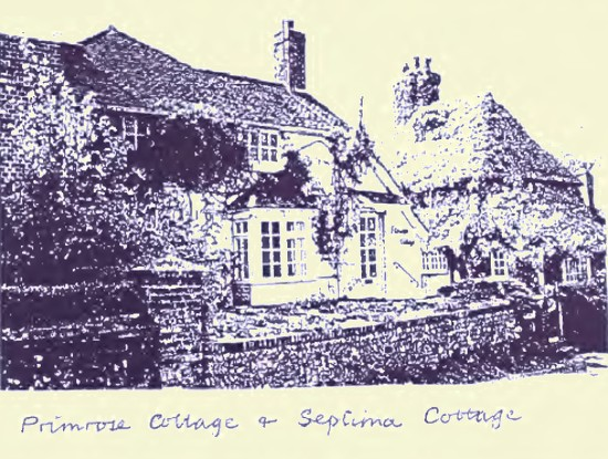 Primrose Cottage & Septima Cottage, Fulking