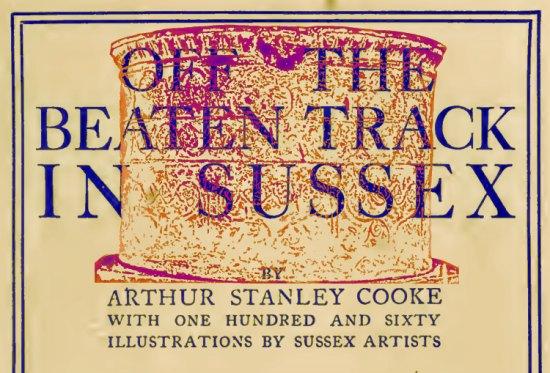 Arthur Stanley Cooke / Edburton font