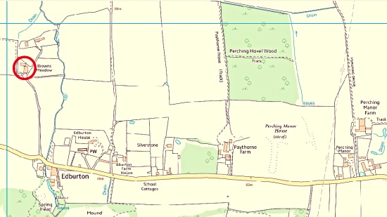 Edburton defibrillator map