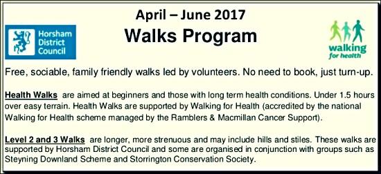 HDC walks