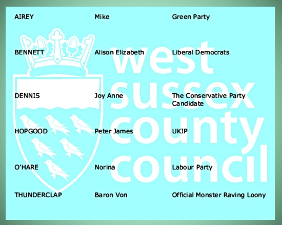 Hurstpierpoint and Bolney candidates