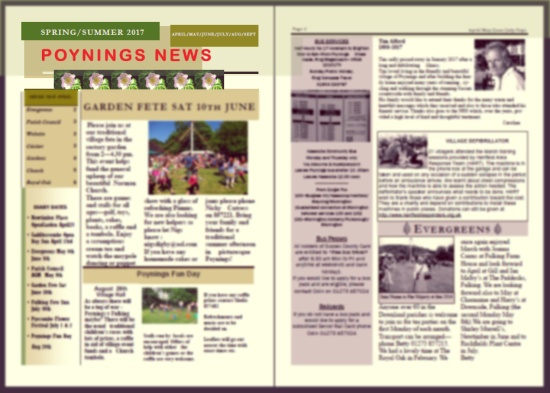Poynings News Spring 2017