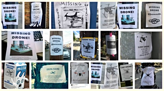 Drone missing