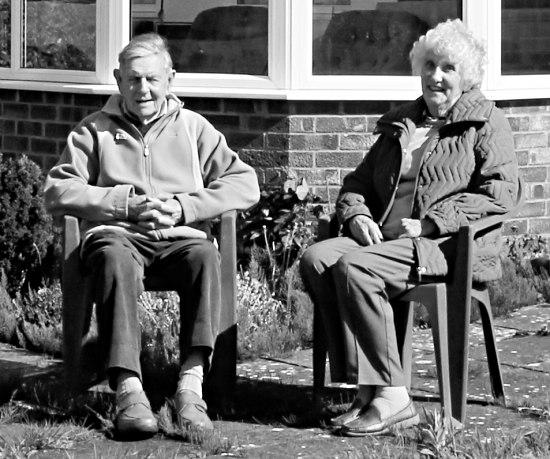 Tony and Doris Brooks at Hillbrook May 2017