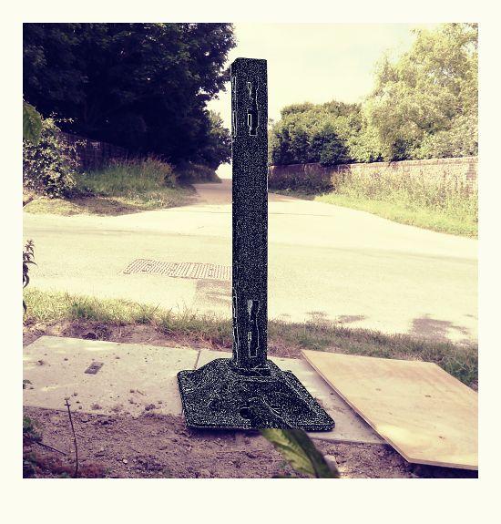Perching Drove monolith