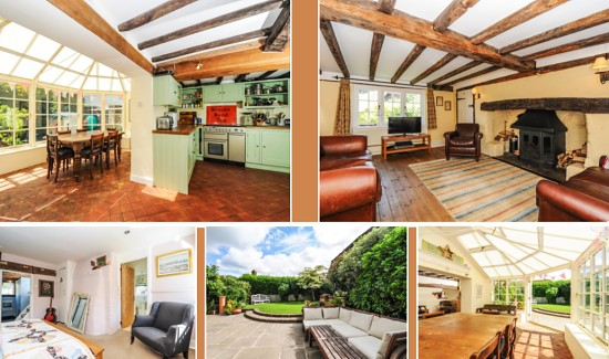 Kent Cottage interior
