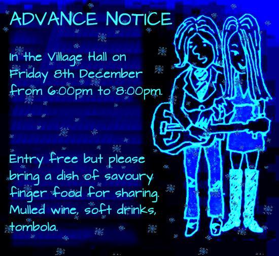 Advance notice