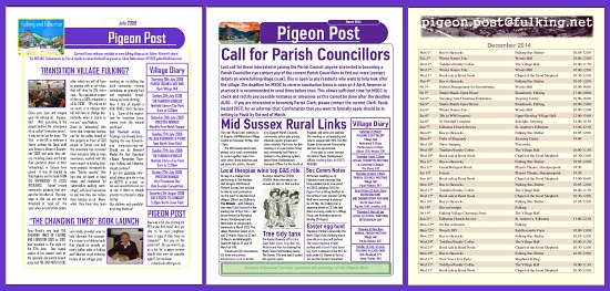 Pigeon Post back issues