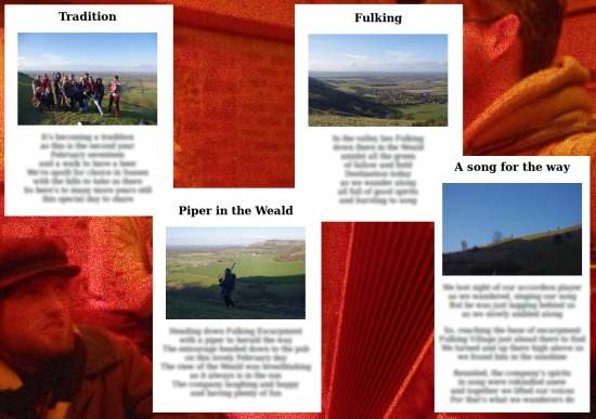 Tradition, Piper in The Weald, Fulking, A Song for the Way